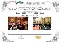 2. ArtFest Č.Budějovice, Josef Pepíno Balek, Level-lounge cafe